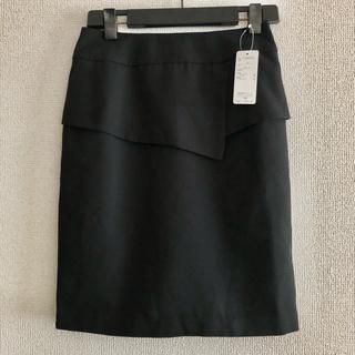 Belluna - 新品未使用 タグ付き ベルーナ タイトスカート ブラック 黒 ウエスト61