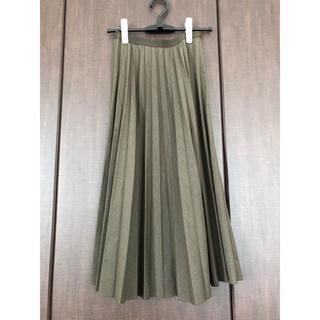 ユニクロ(UNIQLO)のユニクロ プリーツスカート S(ロングスカート)