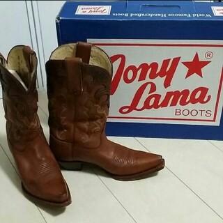 トニーラマ(Tony Lama)のTony Lama トニーラマ ウェスタンブーツ 61/2 B 23.5-24(ブーツ)