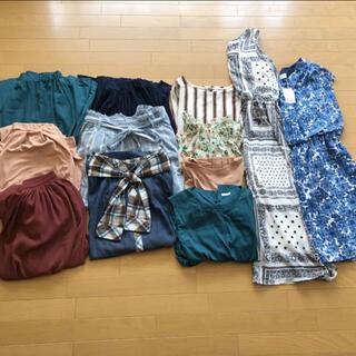 LOWRYS FARM - レディース まとめ売り コーデ ワンピース スカート ワイドパンツ トップス半袖