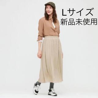 ユニクロ(UNIQLO)の新品タグ付き ユニクロ ギャザーロングスカート(ロングスカート)