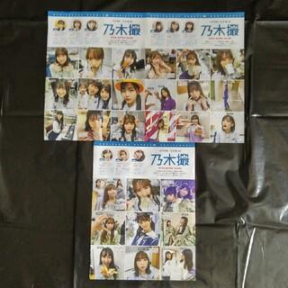 ノギザカフォーティーシックス(乃木坂46)の乃木坂46 非売品 グラビア 新聞(アイドルグッズ)