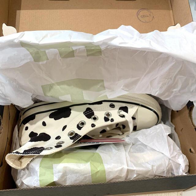 CONVERSE(コンバース)の*完売品*コンバースカウスポットハイ ウシ柄 22.5 レディースの靴/シューズ(スニーカー)の商品写真