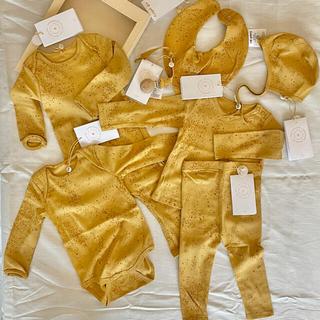 ボンポワン(Bonpoint)のsoft gallery  ギフト7点セット ボックス付き 新品 出産祝い (ロンパース)