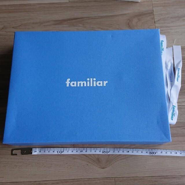 familiar(ファミリア)のファミリア 空箱 レディースのバッグ(ショップ袋)の商品写真
