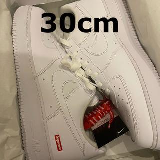 シュプリーム(Supreme)のSupreme Nike Air Force 1 Low 30cm 赤紐なし(スニーカー)