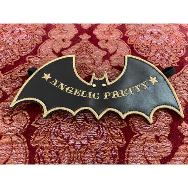 Angelic Pretty(アンジェリックプリティー)のバットヘドレ レディースのヘアアクセサリー(カチューシャ)の商品写真
