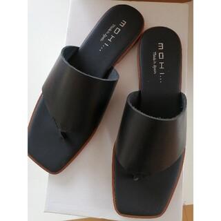 UNITED ARROWS - タイムSALE 新品 MOHI サンダル black 37 スペイン製 今期購入