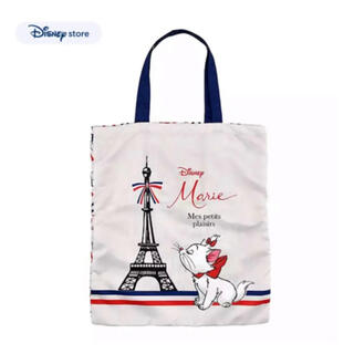 Disney - ディズニーストア おしゃれキャット マリー マリーちゃん ディズニー エコバッグ