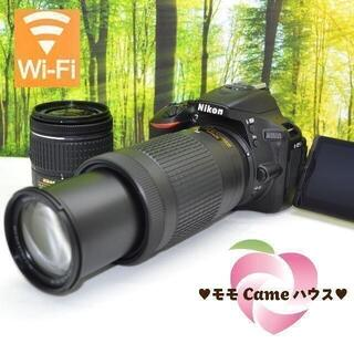 ショップニコニコ(Shop NikoNiko)のニコン D5600ダブルレンズ☆タッチ操作&Bluetooth搭載☆1693(デジタル一眼)