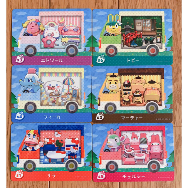 Nintendo Switch(ニンテンドースイッチ)の【amiiboカード サンリオ あつ森 コンプリート】 エンタメ/ホビーのアニメグッズ(カード)の商品写真
