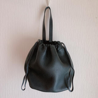 UNITED ARROWS - ユナイテッドアローズ 本革巾着バッグ