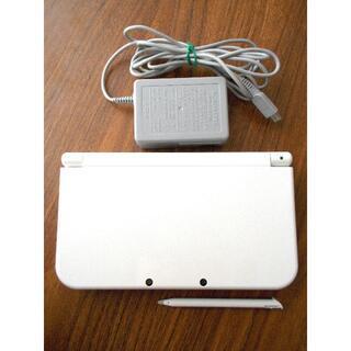 任天堂 - 任天堂 NEW 3DS LL パールホワイト 充電器付