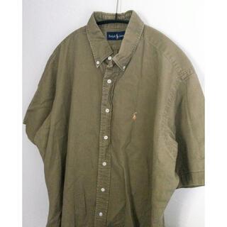 ラルフローレン(Ralph Lauren)のRALPH LAUREN ヴィンテージ 半袖シャツ オーバーサイズ(シャツ)