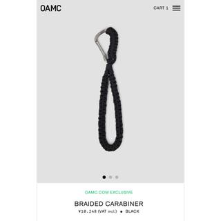 Jil Sander - OAMC / BRAIDED CARABINER black