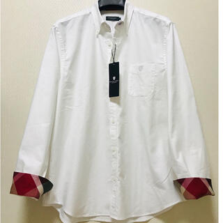 BLACK LABEL CRESTBRIDGE - 新品ブラックレーベルクレストブリッジ オックスフォードボタンダウンシャツ LL