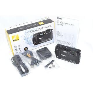Nikon - ★動作絶好調★ NIKON COOLPIX W300 ブラック