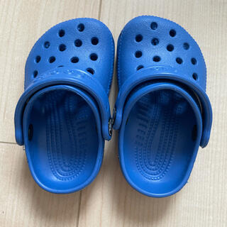 クロックス(crocs)のクロックス サイズ:C2/3 (約10.5)(サンダル)