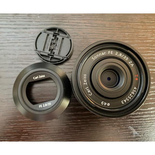 SONY(ソニー)のSONY 単焦点レンズ T* FE 35mm F2.8 ZA Eマウント スマホ/家電/カメラのカメラ(レンズ(単焦点))の商品写真