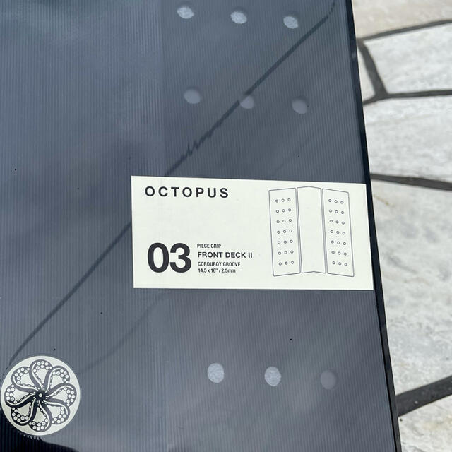 OCTOPUS オクトパス FRONT DECK II フロントデッキパッド スポーツ/アウトドアのスポーツ/アウトドア その他(サーフィン)の商品写真