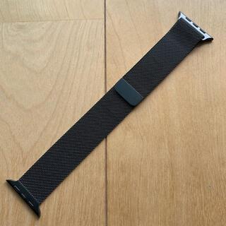 Apple Watch - Apple Watch 純正 ミラネーゼループ ブラック 44mm