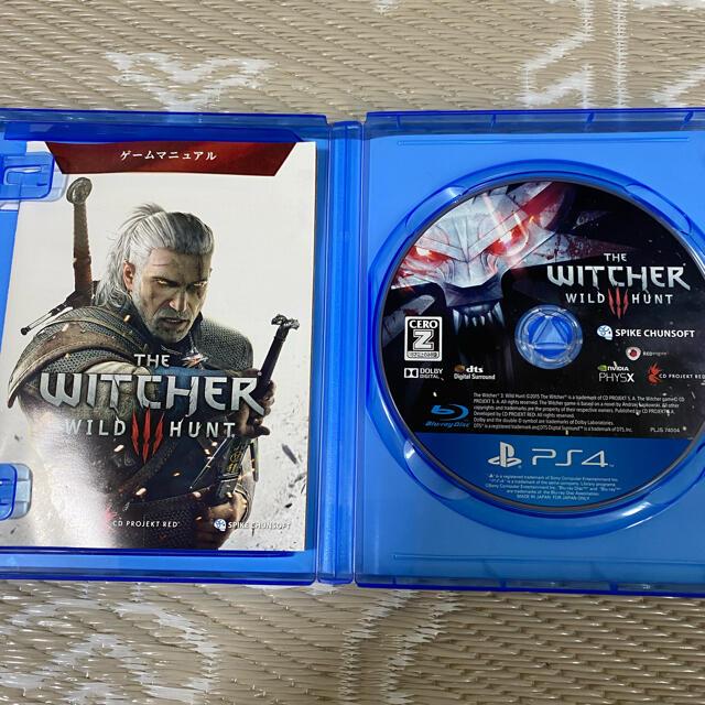 PlayStation4(プレイステーション4)のウィッチャー3 ps4 美品 エンタメ/ホビーのゲームソフト/ゲーム機本体(家庭用ゲームソフト)の商品写真