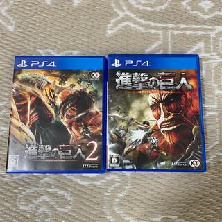 プレイステーション4(PlayStation4)の進撃の巨人1.2 ps4(家庭用ゲームソフト)