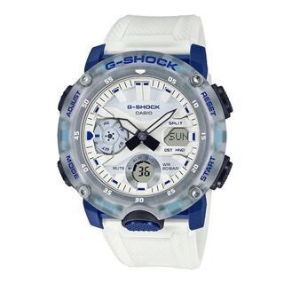 カシオ(CASIO)のカシオ G-SHOCK スケルトンカラー 腕時計 ホワイト(腕時計(アナログ))