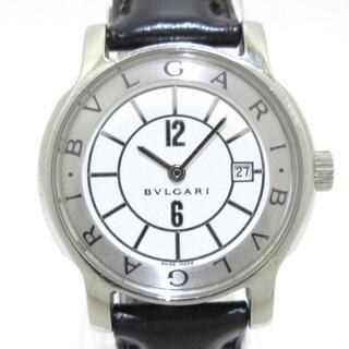 ブルガリ(BVLGARI)のブルガリ 腕時計 ソロテンポ ST29S 白(腕時計)