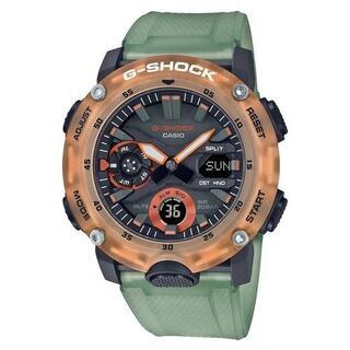 カシオ(CASIO)のカシオ G-SHOCK スケルトンカラー 腕時計 グリーン(腕時計(アナログ))