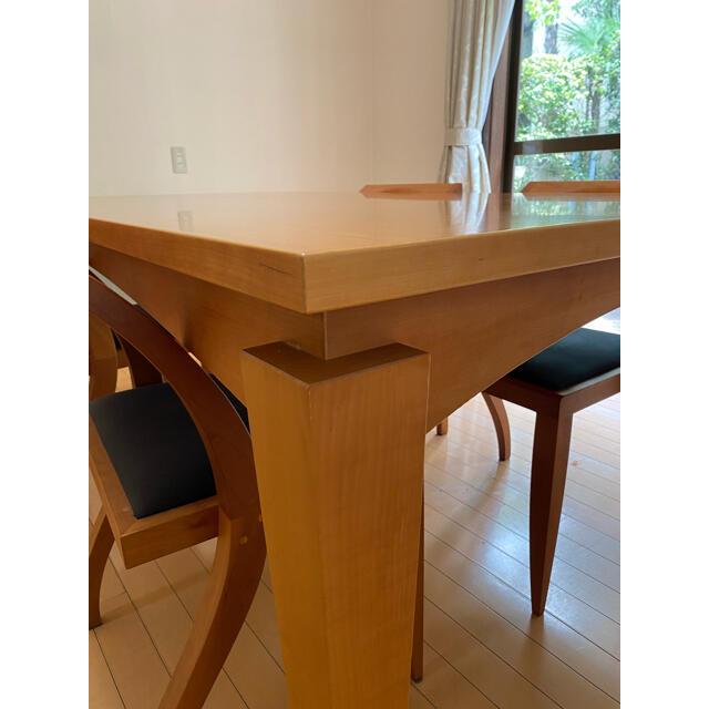 ACTUS(アクタス)のACTUS ダイニング テーブル セット インテリア/住まい/日用品の机/テーブル(ダイニングテーブル)の商品写真