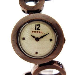 フォッシル(FOSSIL)のフォッシル 腕時計 - ES-1816 レディース(腕時計)