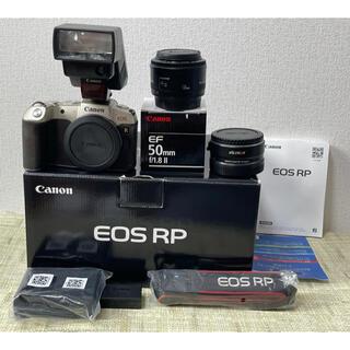 Canon - Canon EOS RPフルサイズボディ マウントアダプター レンズセット