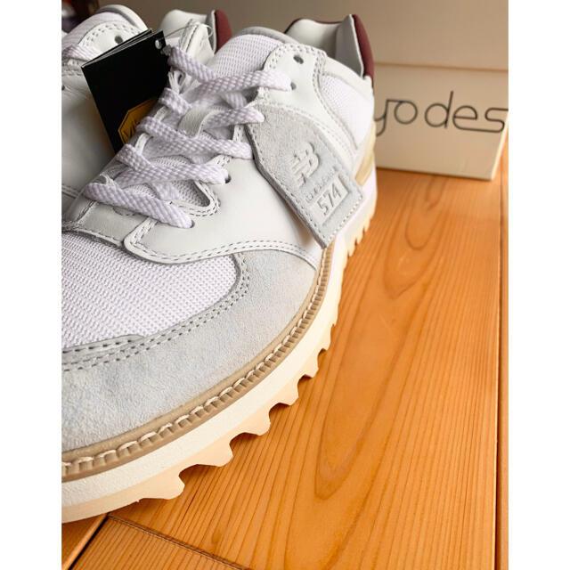 New Balance(ニューバランス)のnew balance tokyo design studio MS574TDU メンズの靴/シューズ(スニーカー)の商品写真