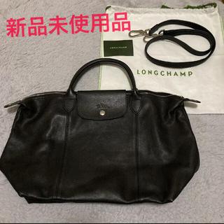 LONGCHAMP - Longchamp ロンシャン ルプリアージュキュイール M 新品未使用