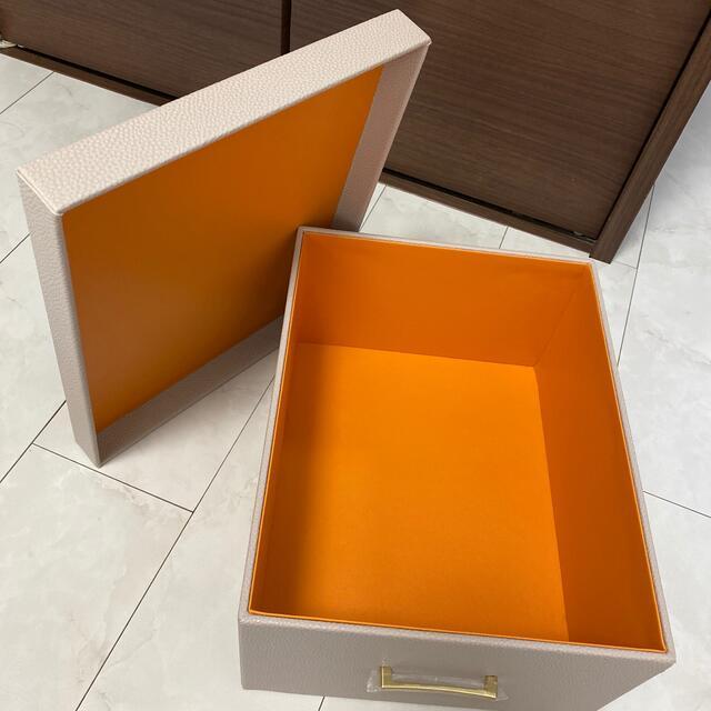 Francfranc(フランフラン)のフランフラン プリーレ Lサイズ 収納BOX インテリア/住まい/日用品の収納家具(ケース/ボックス)の商品写真
