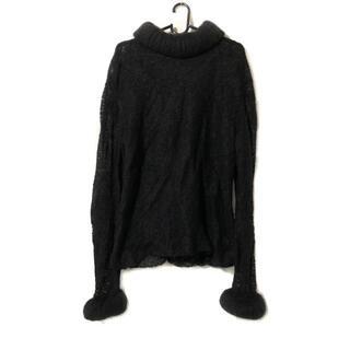 シャネル(CHANEL)のシャネル 長袖セーター レディース - 黒(ニット/セーター)