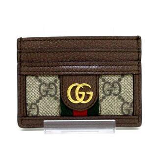 グッチ(Gucci)のGUCCI(グッチ) カードケース美品  523159(名刺入れ/定期入れ)