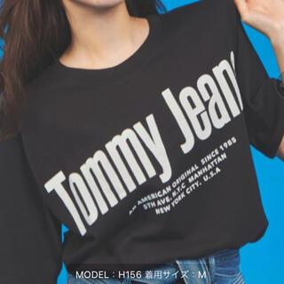 TOMMY - ロゴビッグシェルエットTシャツ