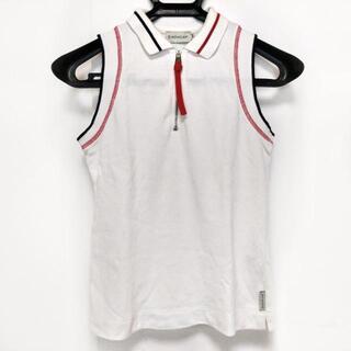 モンクレール(MONCLER)のモンクレール ノースリーブポロシャツ XS(ポロシャツ)