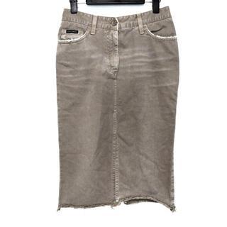 ドルチェアンドガッバーナ(DOLCE&GABBANA)のドルチェアンドガッバーナ スカート 38 S(その他)