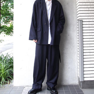 ヨウジヤマモト(Yohji Yamamoto)のウジョー BOX JKT Big Silhouette PNT セットアップ(セットアップ)