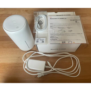 HUAWEI - Speed Wi-Fi HOME L02 ホワイト ホームルーター