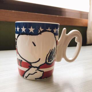 ユニバーサルスタジオジャパン(USJ)のUSJ10周年記念 SNOOPYマグカップ(キャラクターグッズ)