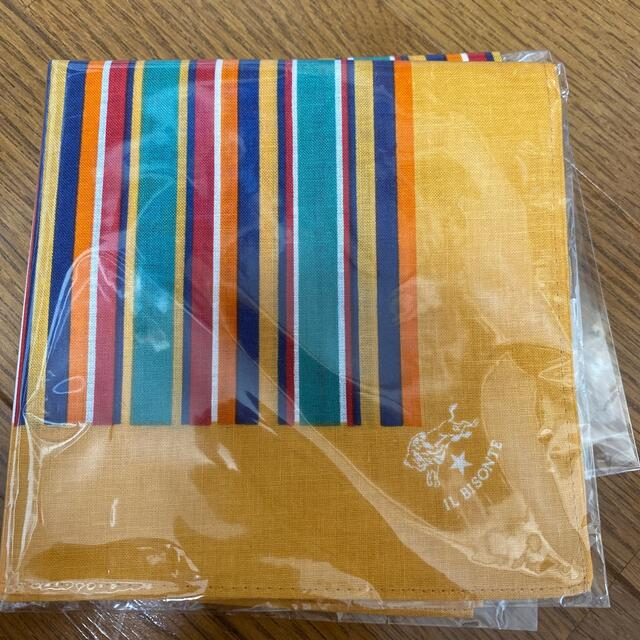 IL BISONTE(イルビゾンテ)のイルビゾンテハンカチ レディースのファッション小物(ハンカチ)の商品写真