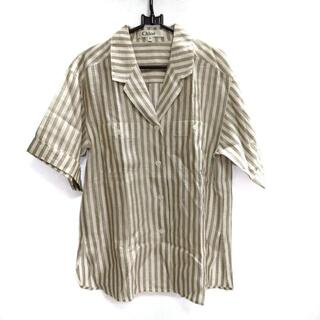 クロエ(Chloe)のクロエ 半袖シャツブラウス サイズ40 M(シャツ/ブラウス(半袖/袖なし))