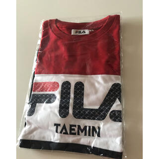 SHINee - SHINee テミン TAEMIN FILA Tシャツ 未開封