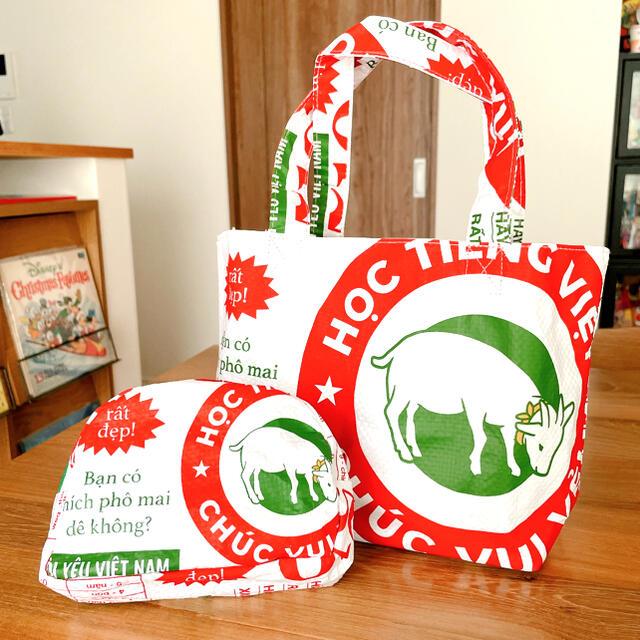 KALDI(カルディ)のカルディ サイゴンバックポーチセット レディースのバッグ(トートバッグ)の商品写真