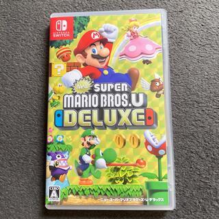 ニンテンドースイッチ(Nintendo Switch)のNew スーパーマリオブラザーズ U デラックス Switch(家庭用ゲームソフト)