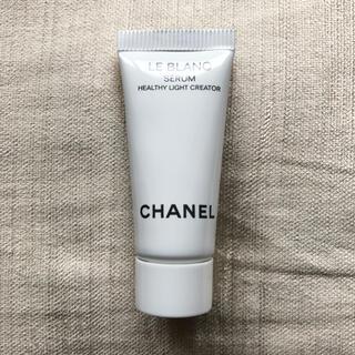 シャネル(CHANEL)のシャネル ルブランセラム HLCS 新品未開封(サンプル/トライアルキット)
